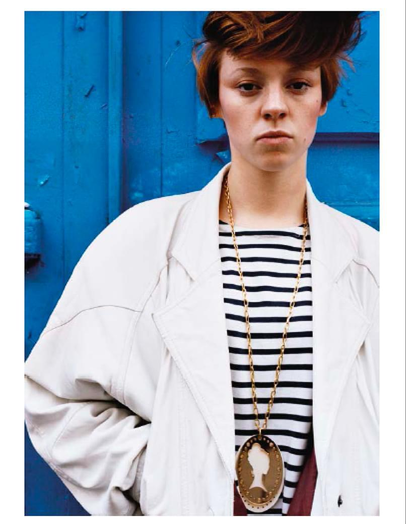 La Roux par Mélanie Elbaz dans son livre home-grown