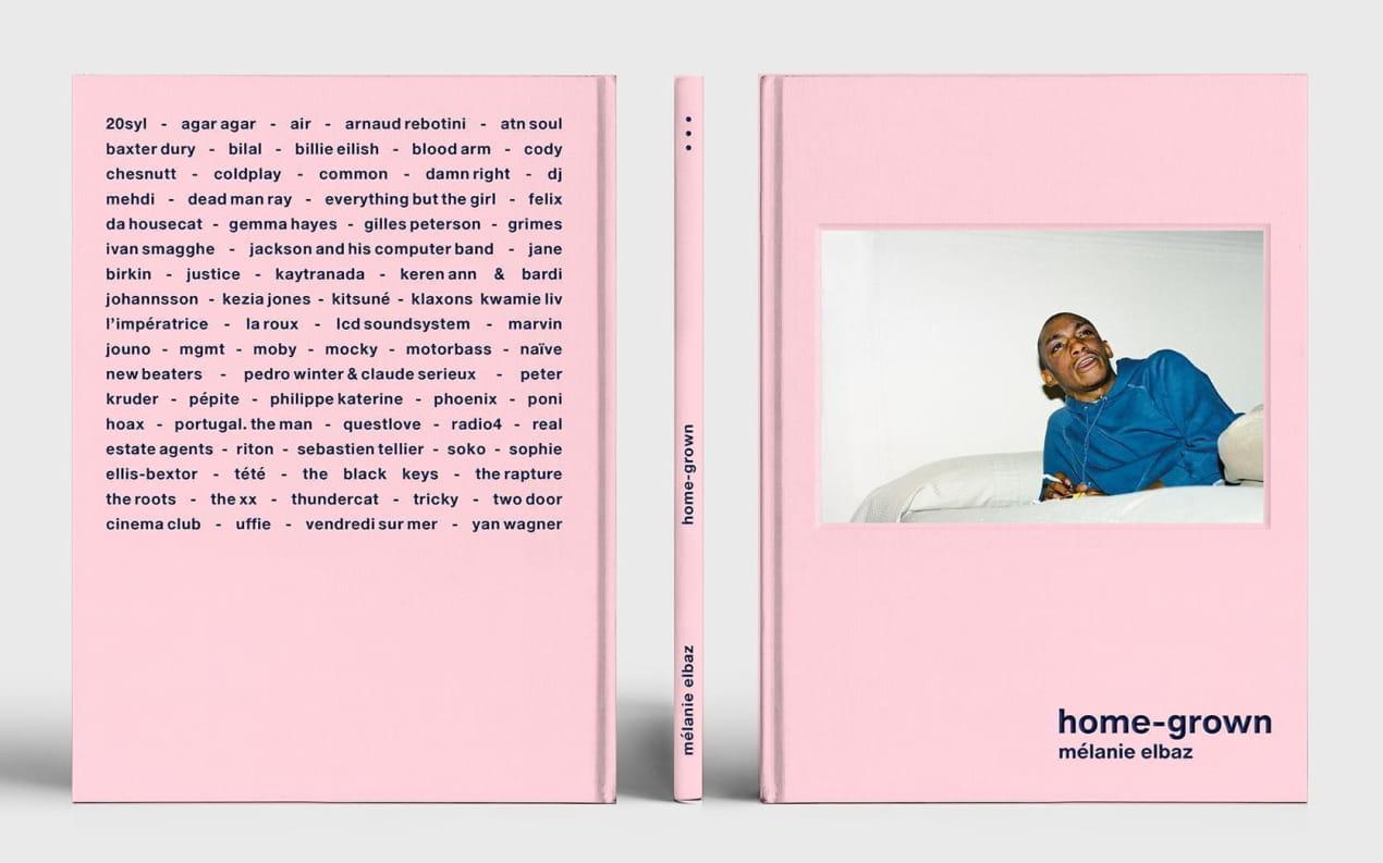 Livre home-grown par Mélanie Elbaz