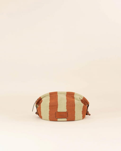 Gemino pouch - Rust Stripes