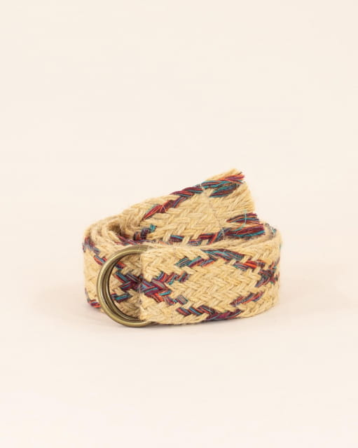 Jutty belt - Raphia Jute
