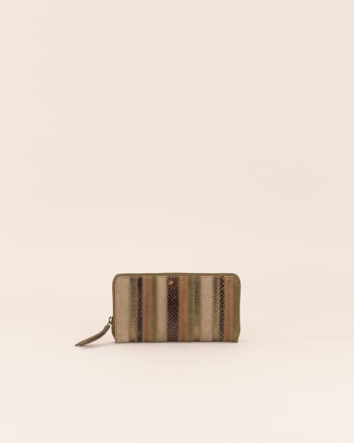 Savico wallet - Kaki Brown