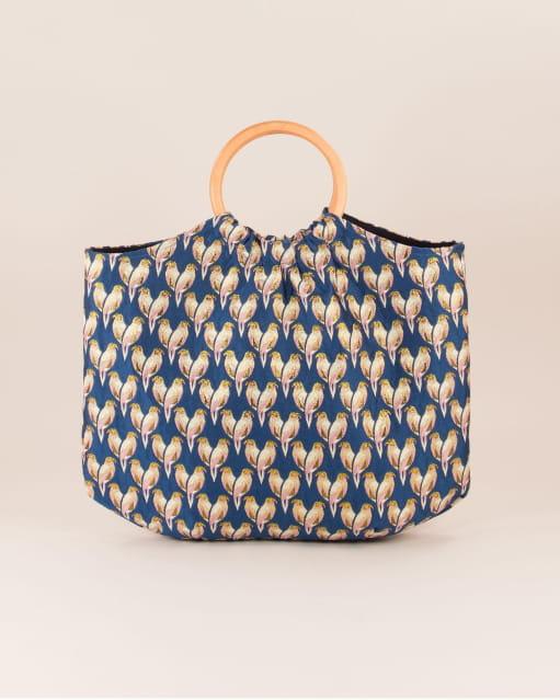 Parrot bag - Aqua Parrot