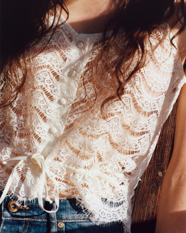 Sessùn Spring Summer 2020 collection - Lace top