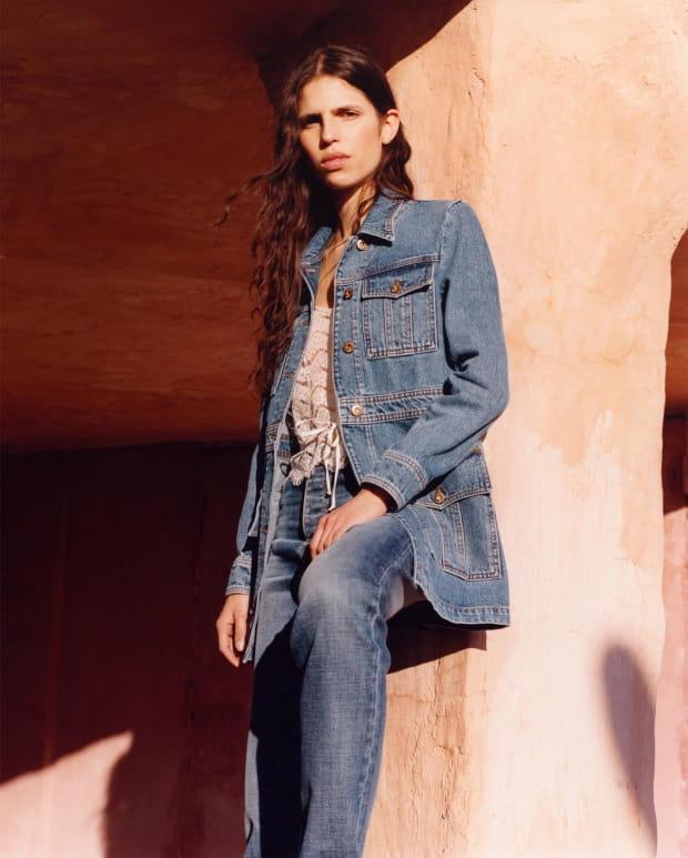 Sessùn collection Printemps Été 2020 - veste et pantalon en jean