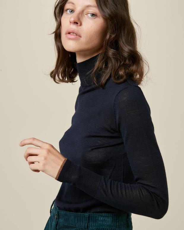 Merindad - Navy/Amber