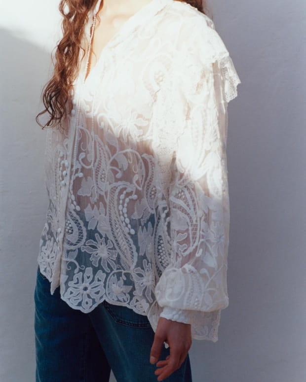 Sessùn collection Printemps Été 2020 - blouse blanche