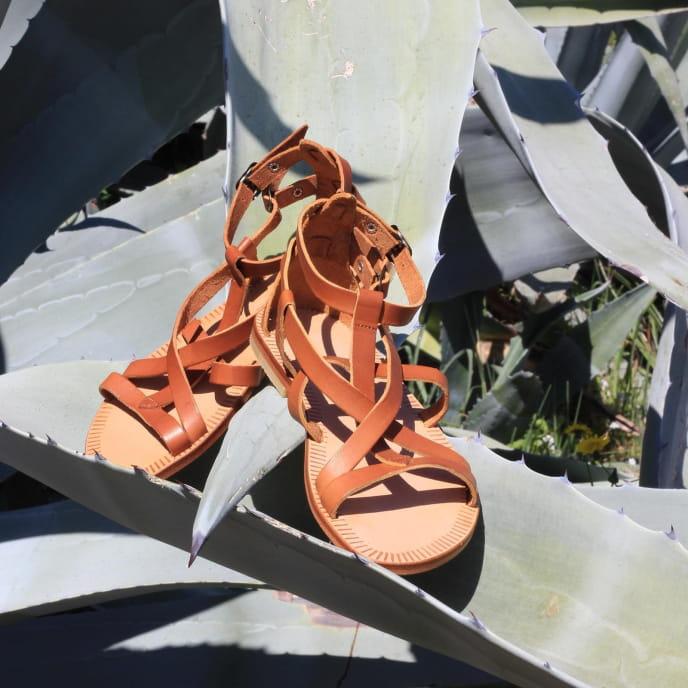 The  Spartan sandals