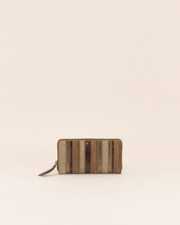 Savico wallet - Kaki Brown