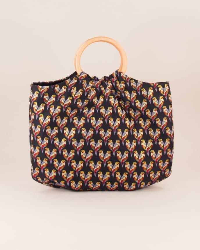 Parrot bag - Black Parrot