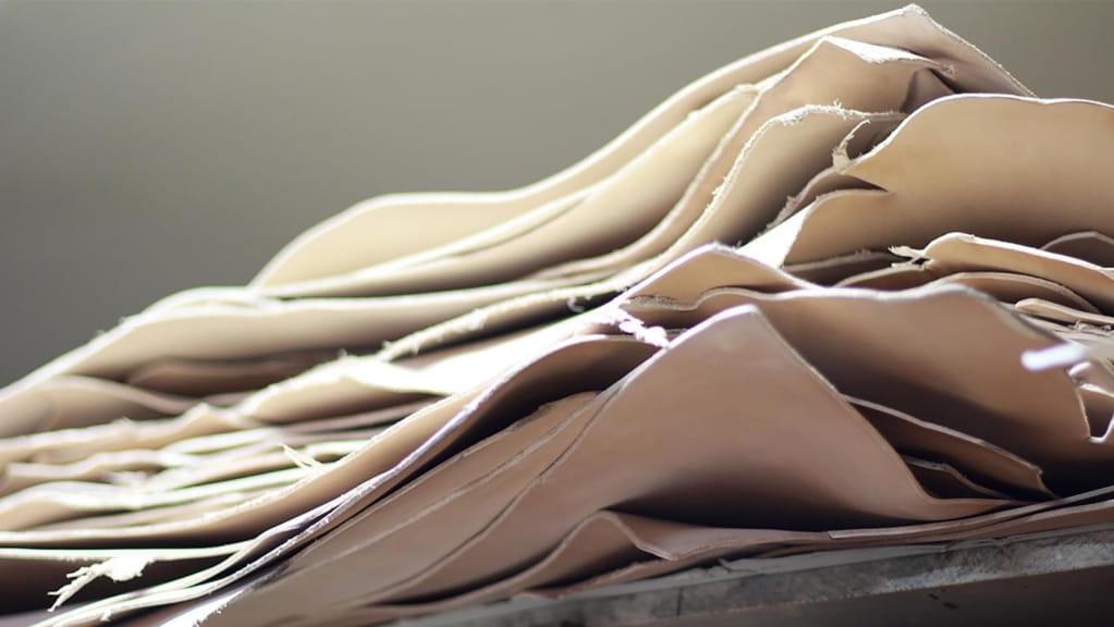 Bouts de cuir