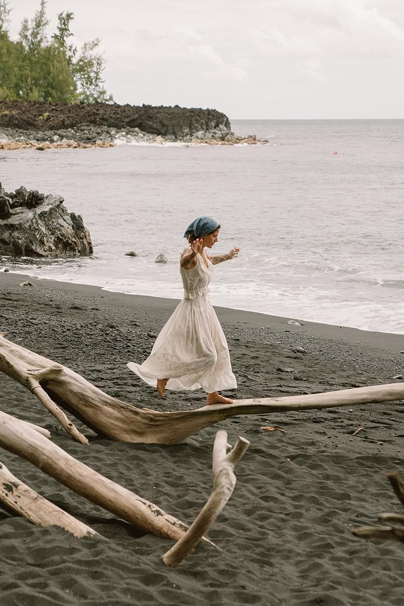Marie-Sophie Lockhart x Sessùn à Hawaii