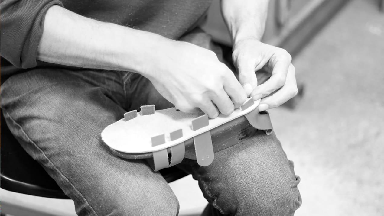 Assemblage sandale