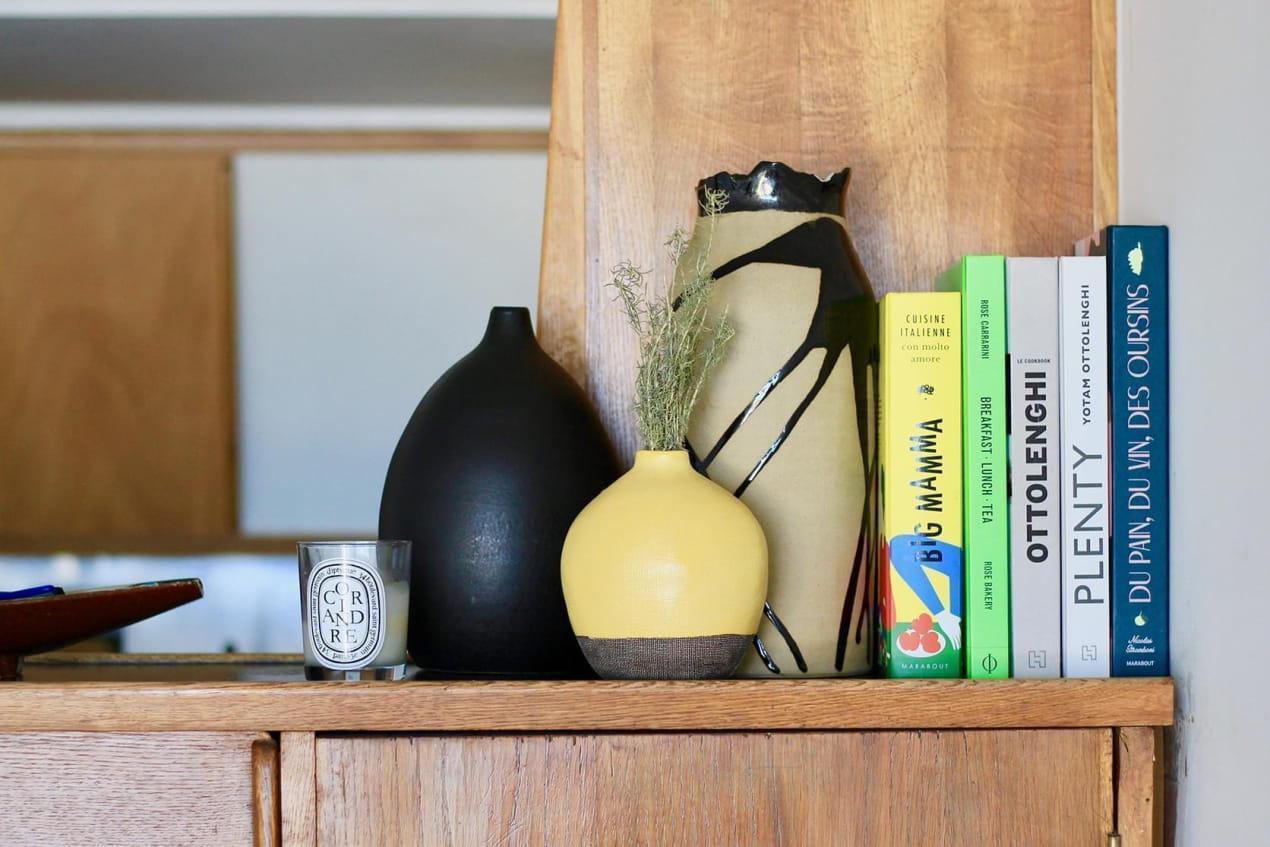 Close up livres de cuisine Le Corbusier
