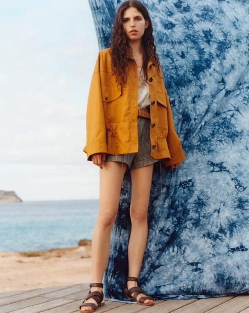 Sessùn Spring Summer 2020 collection - Jacket - Sandals - Shorts