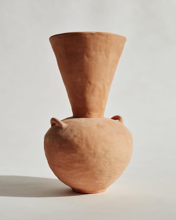 Vase terracotta